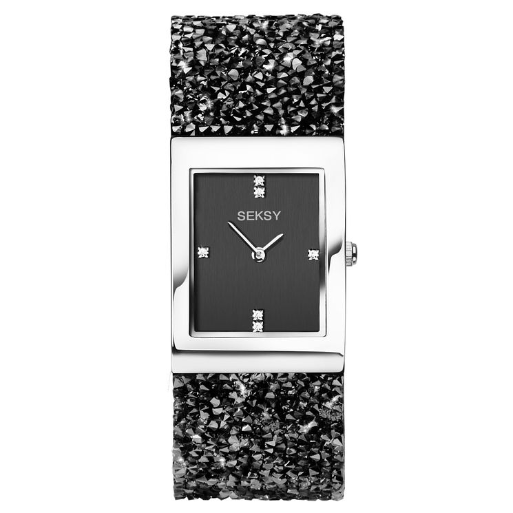 Seksy Ladies' Rhodium Plated Bracelet Watch - Product number 9434305