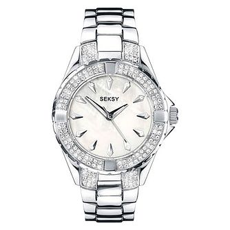Seksy Ladies' Stainless Steel Bracelet Watch - Product number 9434321