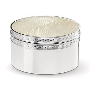 Vera Wang & Wedgwood Love Noveau Pearl Covered Box - Product number 9435212
