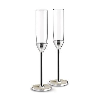 Vera Wang & Wedgwood Love Noveau Pearl Toasting Flutes - Product number 9435263