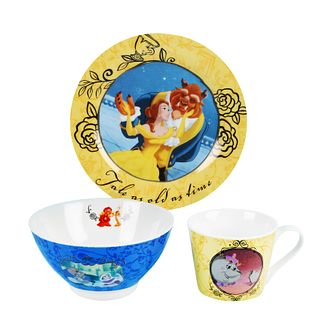 Disney Beauty and the Beast Breakfast Set - Product number 9435743
