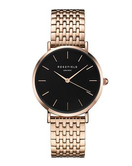 Rosefield Ladies' Rose Gold Plated Steel Bracelet Watch - Product number 9436200