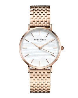 Rosefield Ladies' Rose Gold Stainless Steel Bracelet Watch - Product number 9436316