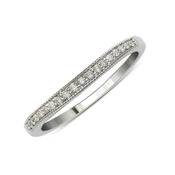 18ct White Gold & Diamond Perfect Fit Eternity Ring - Product number 9437290