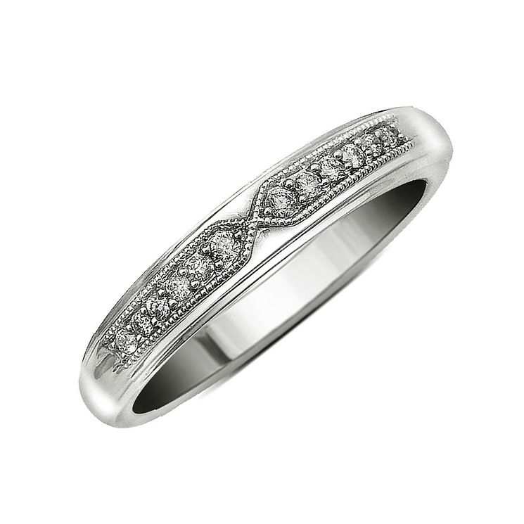18ct White Gold & Diamond Perfect Fit Eternity Ring - Product number 9437908