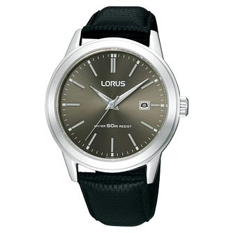 Lorus Men's Black Strap Watch - Product number 9438033