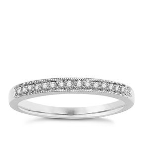 9ct White Gold & Diamond Perfect Fit Eternity Ring - Product number 9438807