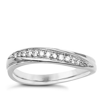 9ct White Gold & Diamond Perfect Fit Eternity Ring - Product number 9439080