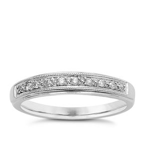 9ct White Gold & Diamond Perfect Fit Eternity Ring - Product number 9439374