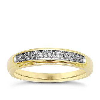 9ct Yellow Gold & Diamond Perfect Fit Eternity Ring - Product number 9439765