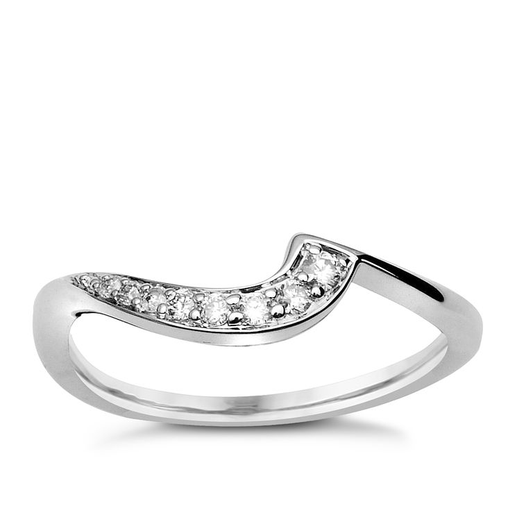 9ct White Gold & Diamond Perfect Fit Eternity Ring - Product number 9443266