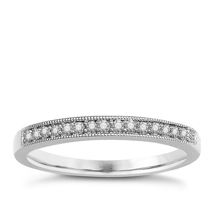 9ct White Gold & Diamond Perfect Fit Eternity Ring - Product number 9443525