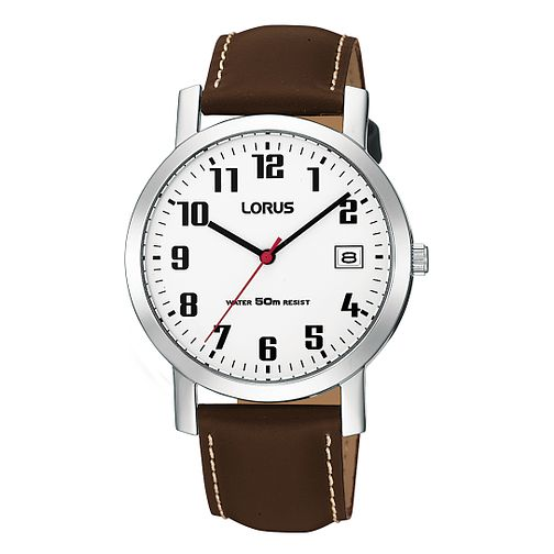 Lorus Men's Brown Strap Watch - Product number 9443827