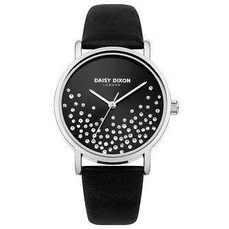 Daisy Dixon Astra Ladies' Black Strap Watch - Product number 9444254