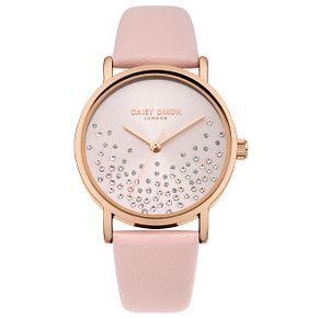 Daisy Dixon Astra Ladies' Pink Strap Watch - Product number 9444270