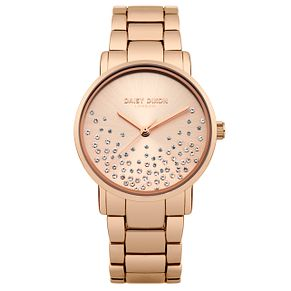 Daisy Dixon Aubrie Ladies' Rose Gold Plated Bracelet Watch - Product number 9444386