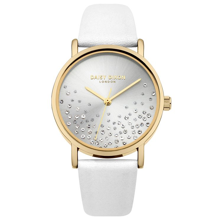 Daisy Dixon Astra Ladies' White Strap Watch - Product number 9444432