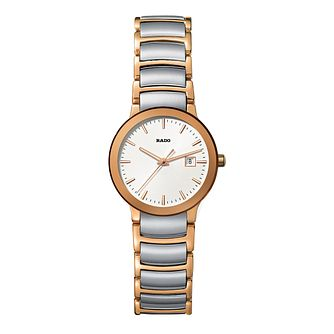 Rado Centrix ladies' two colour bracelet watch - S - Product number 9446621