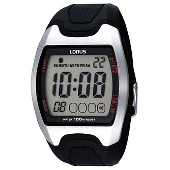 Lorus Men's Black Digital Watch - Product number 9449493