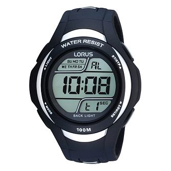 Lorus Men's Black Digital Watch - Product number 9450254