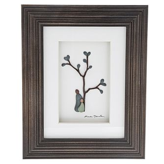 Sharon Nowland 'Birds of a Feather' Wood Framed Picture - Product number 9453202