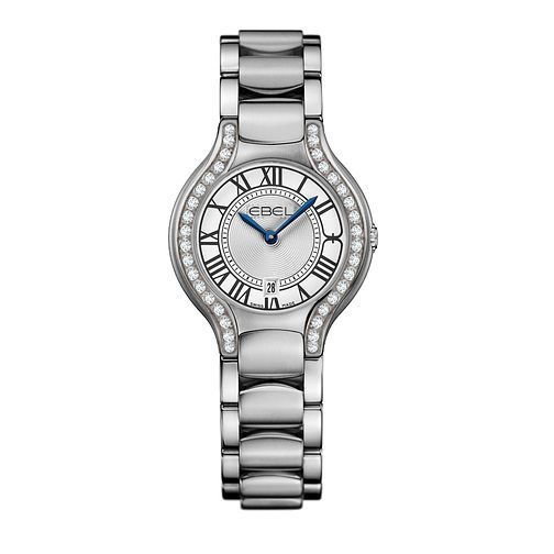 Ebel ladies' white dial diamond bezel bracelet watch - Product number 9453474