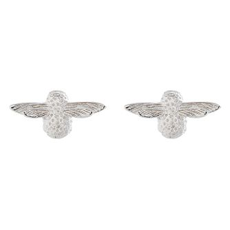 Olivia Burton 3D Bee Ladies' Silver Stud Earrings - Product number 9457151