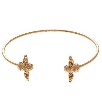 Olivia Burton 3D Bee Ladies' Yellow Gold Plated Bangle - Product number 9457291