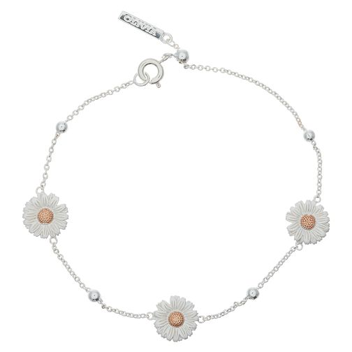 Olivia Burton Daisy Ladies' Two Colour Chain Bracelet - Product number 9457348