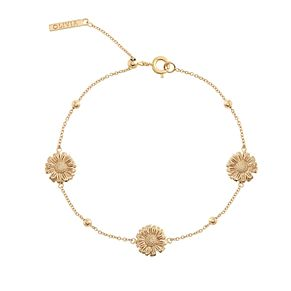Olivia Burton Daisy Ladies' Gold Plated Chain Bracelet - Product number 9457356