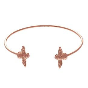Olivia Burton 3D Bee Ladies' Rose Gold Plated Bangle - Product number 9457402