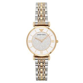 Emporio Armani Ladies' Two Colour Stone Set Bracelet Watch - Product number 9462805