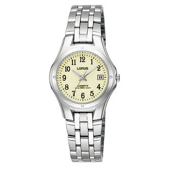 Lorus Lumibrite Ladies' Stainless Steel Bracelet Watch - Product number 9469842