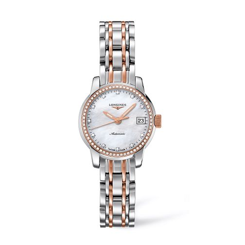 Longines Saint Imier Ladies' Diamond Two Colour Watch - Product number 9528504