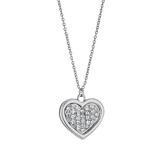 Stones Set Heart Pendant - Product number 9529055