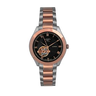 Rotary Jura two colour bracelet watch - Product number 9531831