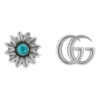 Gucci Silver Flower Earrings - Product number 9540555