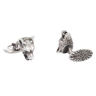 Gucci Silver Wolf Cufflinks - Product number 9540628