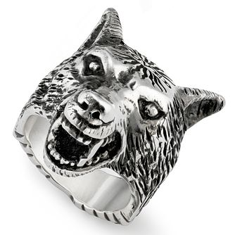Gucci Silver Wolf Ring Size S - Product number 9540636