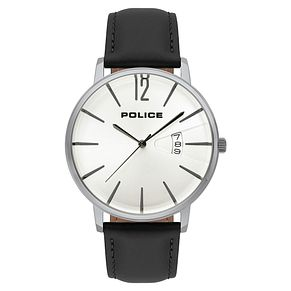 Police Virtue Men's Black Strap Watch - Product number 9547630