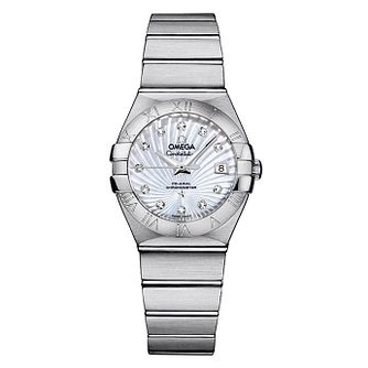 Omega Constellation omega ladies' diamond bracelet watch - Product number 9552065