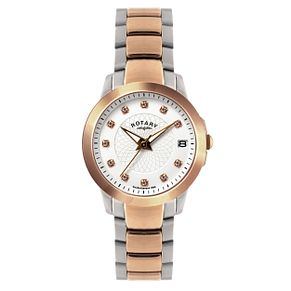 Rotary Ladies' Two Colour Bracelet Watch - Product number 9552464