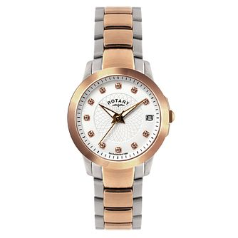 Rotary Ladies' Timepieces Two Colour Bracelet Watch - Product number 9552464