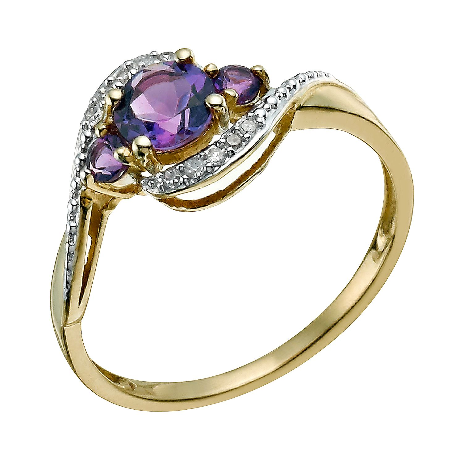 products filled amethyst image gold rings birthstone product black punk february