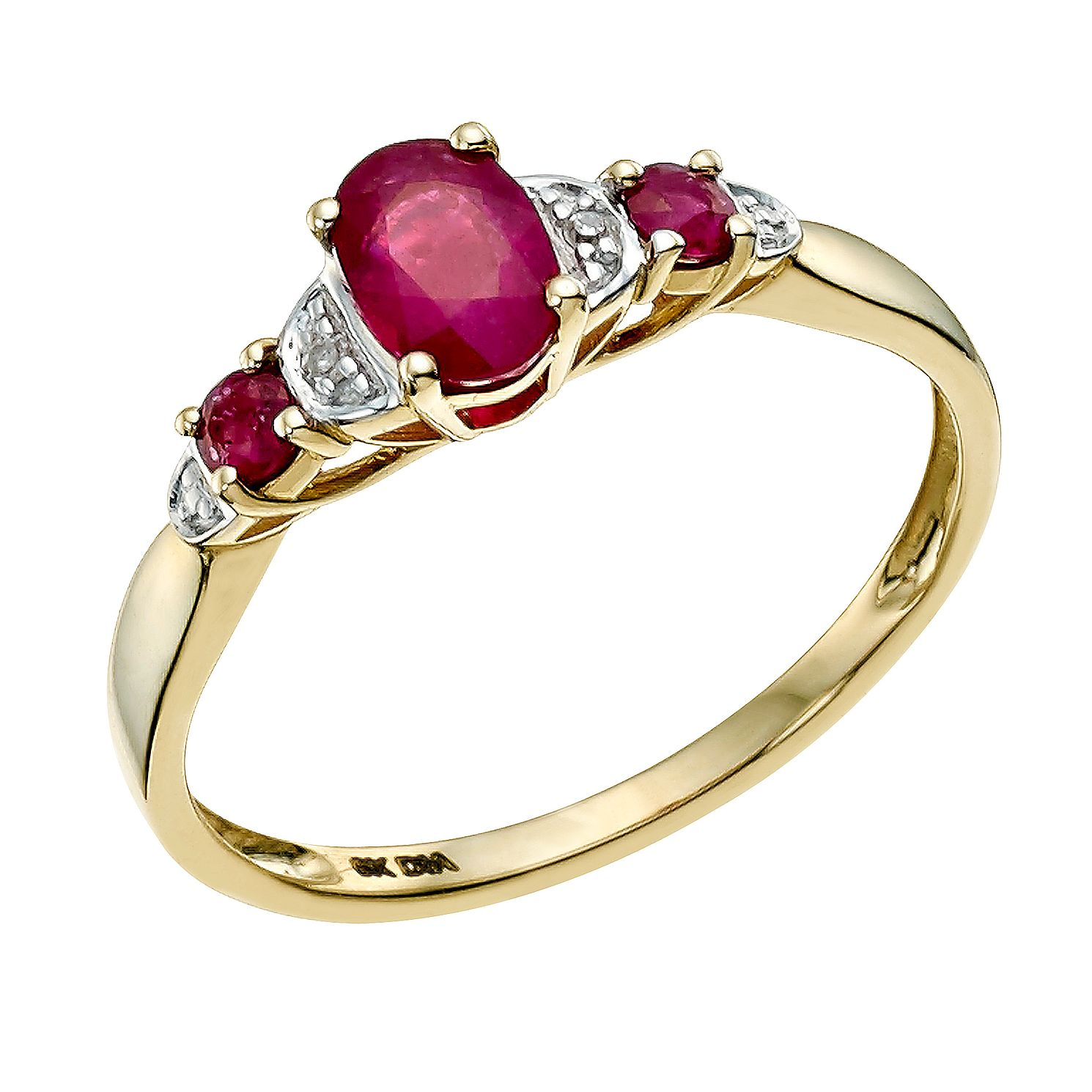 gold estate products marquise cocktail cluster yellow vintage diamond ruby large the passaic natural ring engagement rings