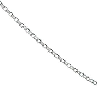 "Sterling Silver 18"" Belcher Chain - Product number 9599576"