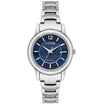 Citizen Ladies' Stainless Steel Blue Dial Watch - Product number 9600566