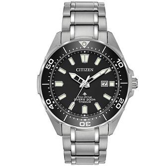 Citizen Men's Eco-Drive Promaster Diver Bracelet Watch - Product number 9602410