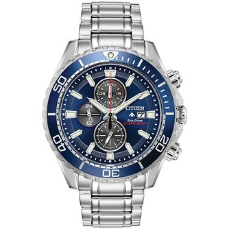 Citizen Men's Eco-Drive Promaster Diver Bracelet Watch - Product number 9602704