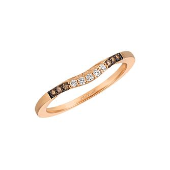 Le Vian 14ct Strawberry Gold Diamond Band - Product number 9627812